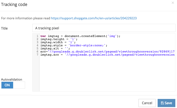 Converting a tracking pixel from HTML to JavaScript